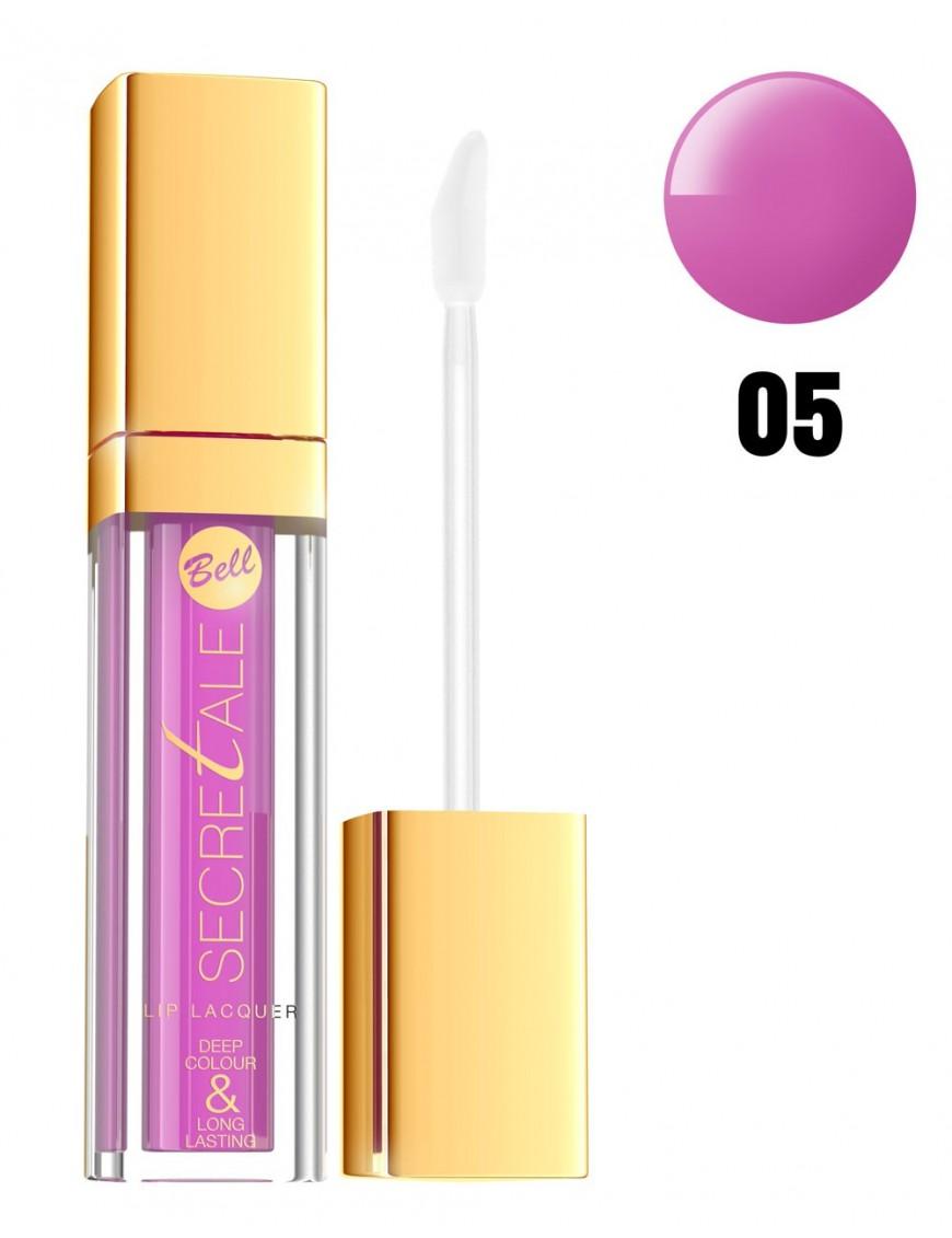 Laque à lèvres violet/rose