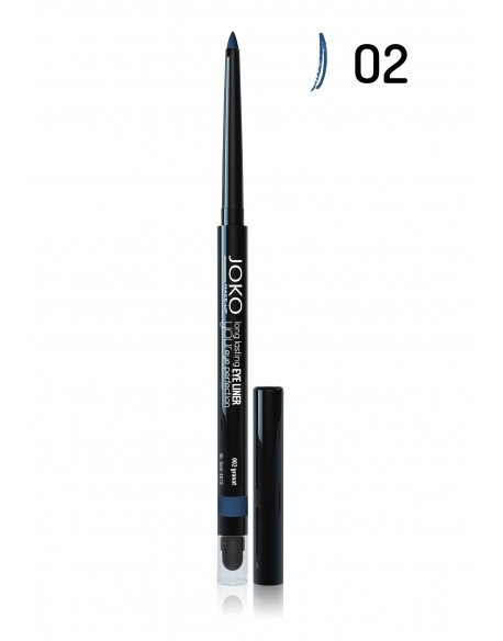 Crayon eye-liner automatique bleu