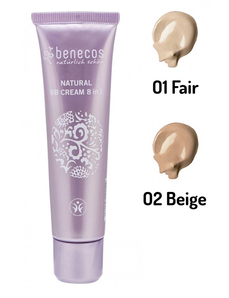 BB crème 8 actions en 1 naturelle