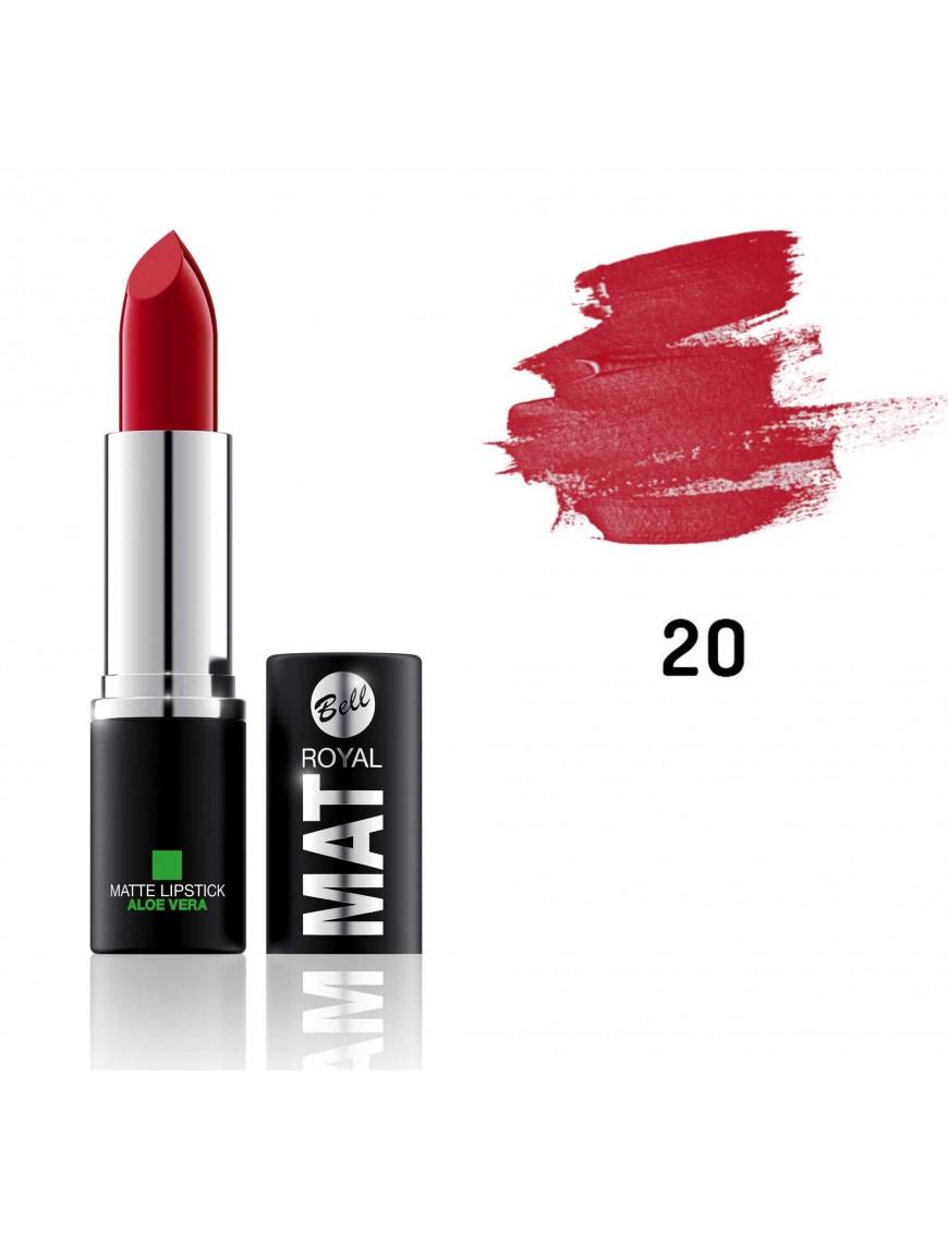 Rouge à lèvres Mat rouge carmin