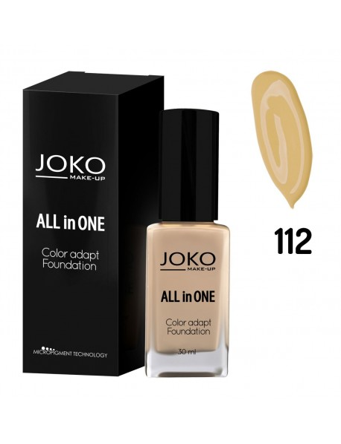 Fond de teint pompe All in One Couleur-N° 112 Honey beige