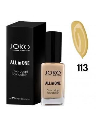 Fond de teint pompe All in One Couleur-N° 113 Dark beige