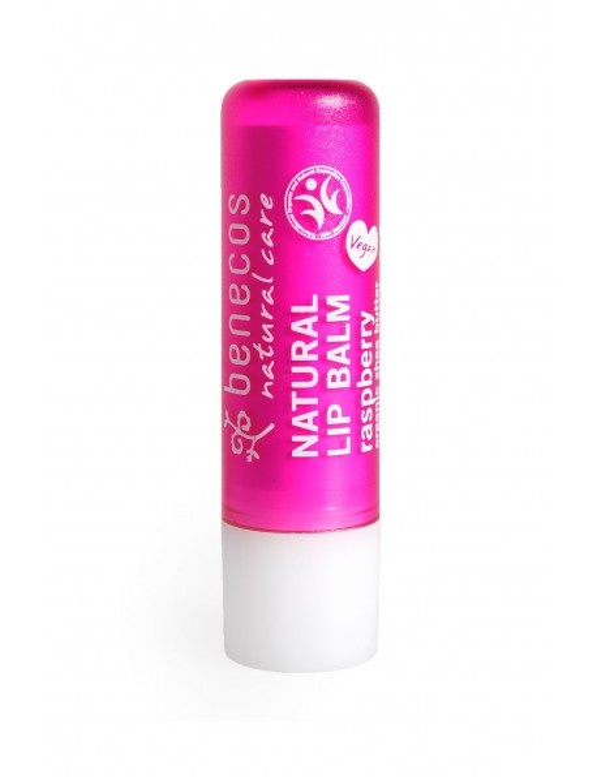 Baume à lèvres naturel parfum framboise