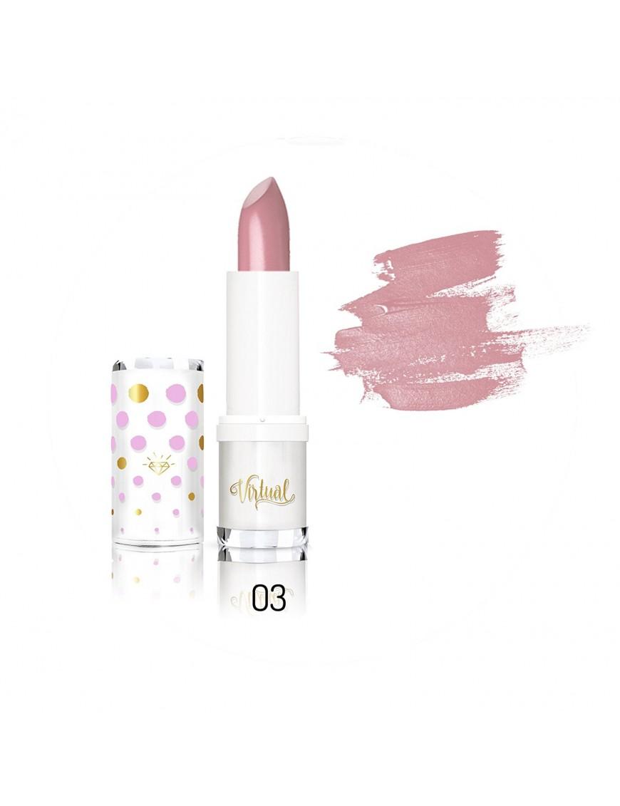 Rouge à lèvres rose balais