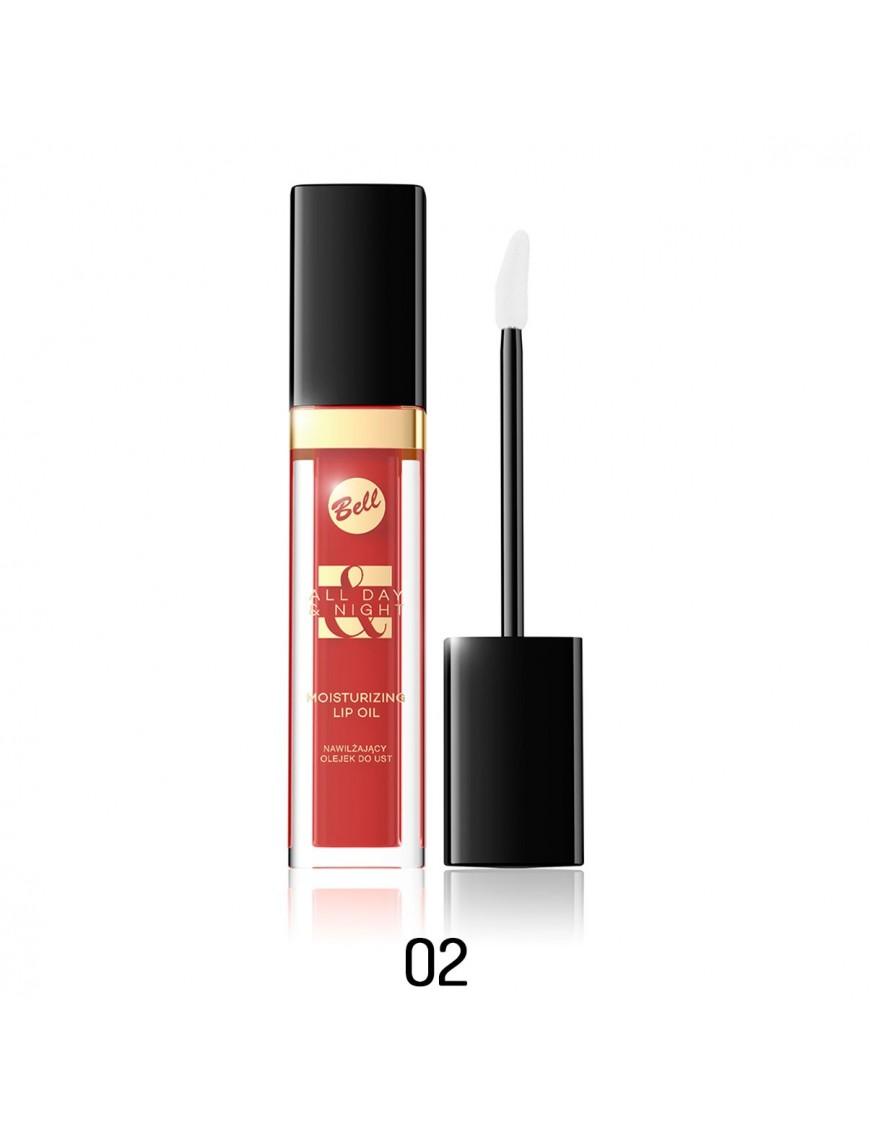 Huile à lèvres rouge