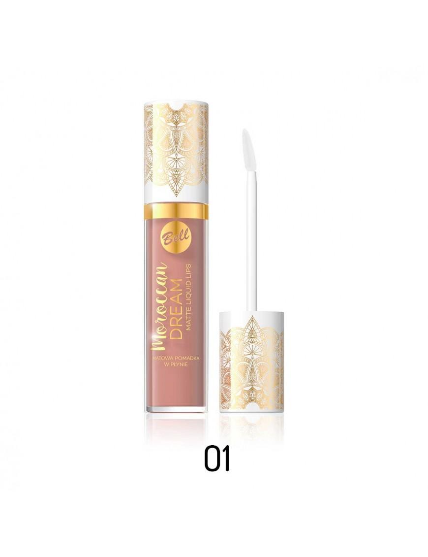 Rouge à lèvres mat liquide beige rosé