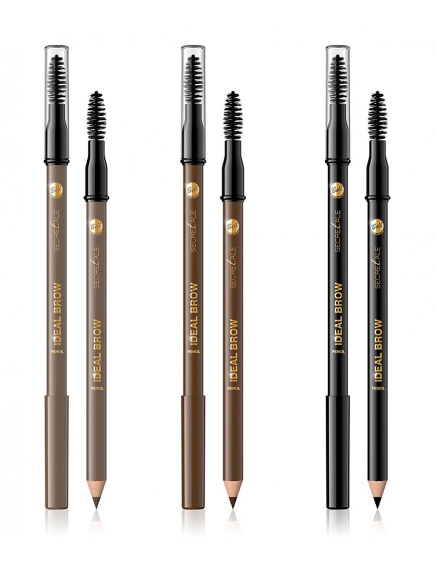 Crayon sourcils avec brosse