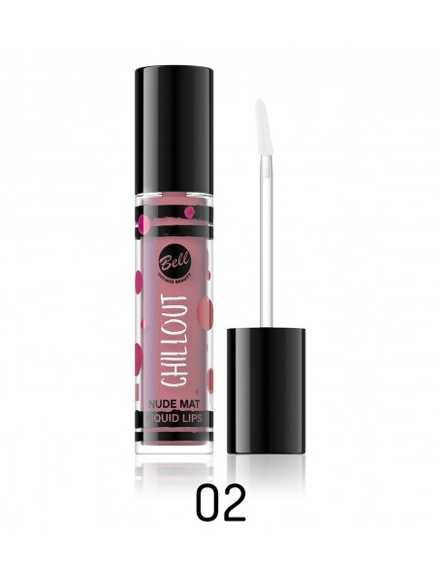 Rouge à lèvres mat nude rose
