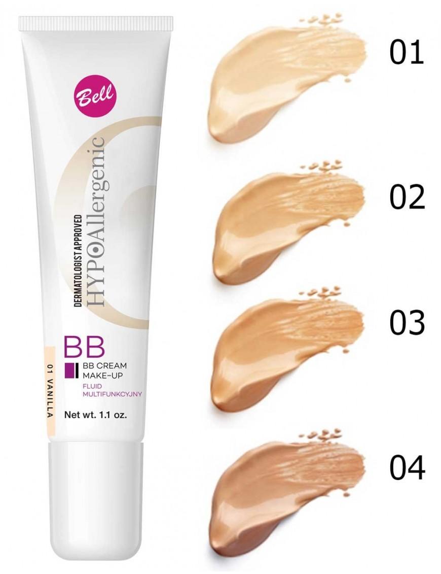 BB Crème hypoallergénique