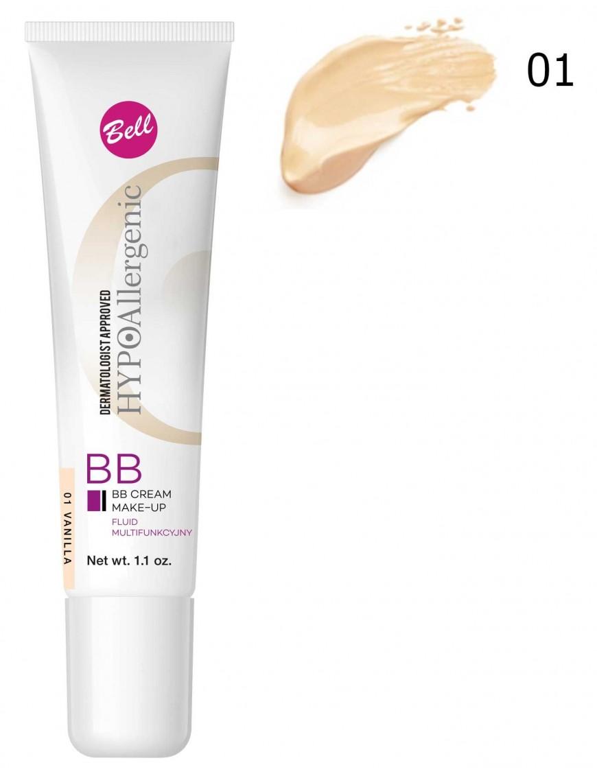 BB Crème hypoallergénique vanille