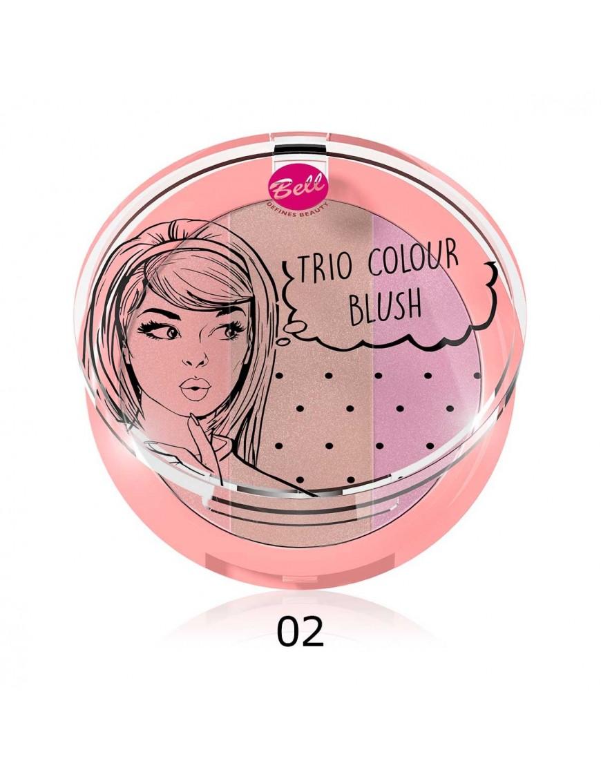 Blush trio de couleurs rose