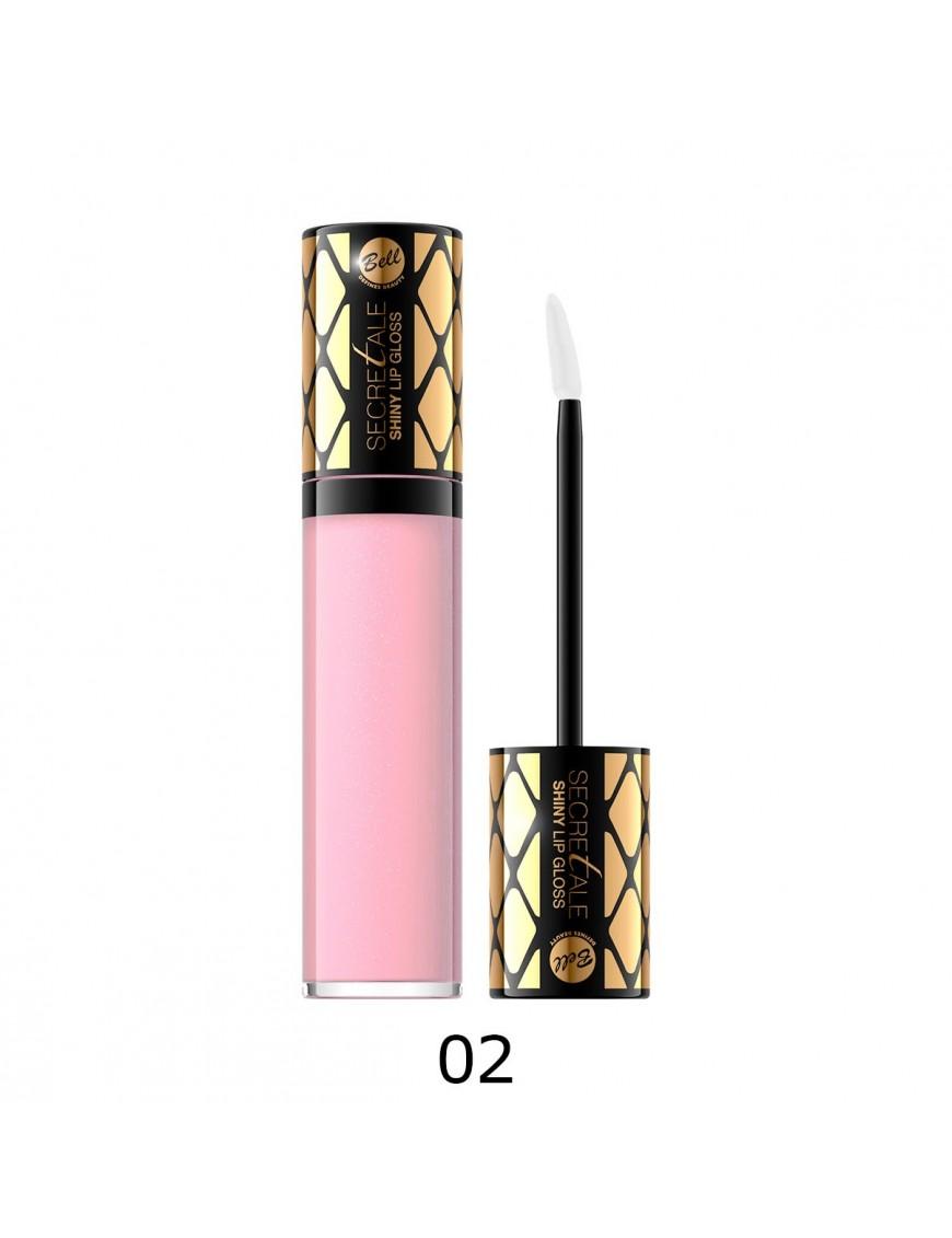 Brillant à lèvres irisé rose clair