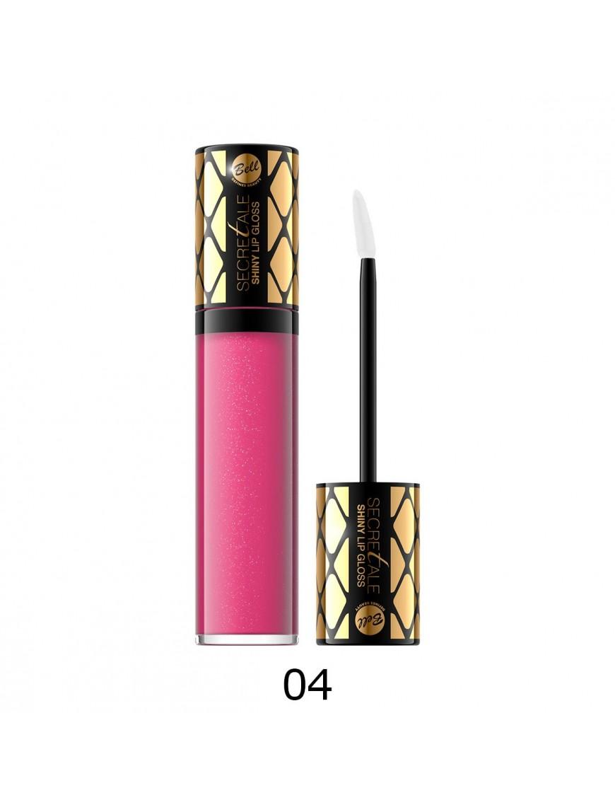 Brillant à lèvres irisé rose intense