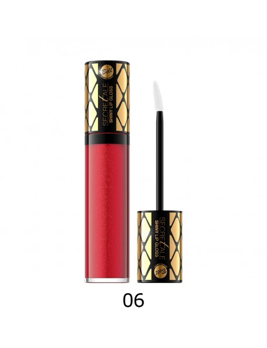 Brillant à lèvres irisé rouge