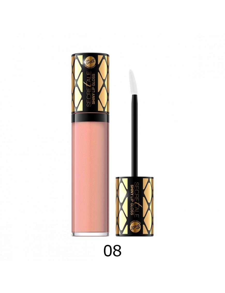 Brillant à lèvres irisé beige rosé