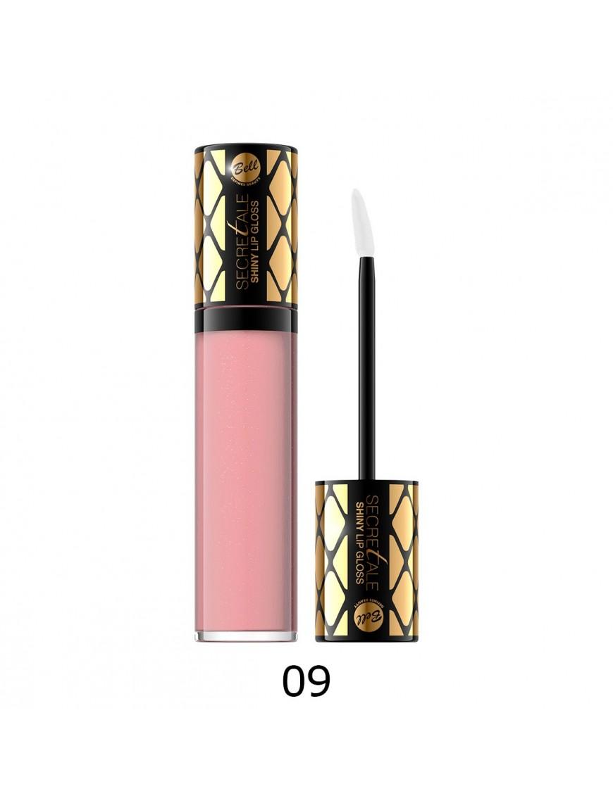 Brillant à lèvres irisé rose