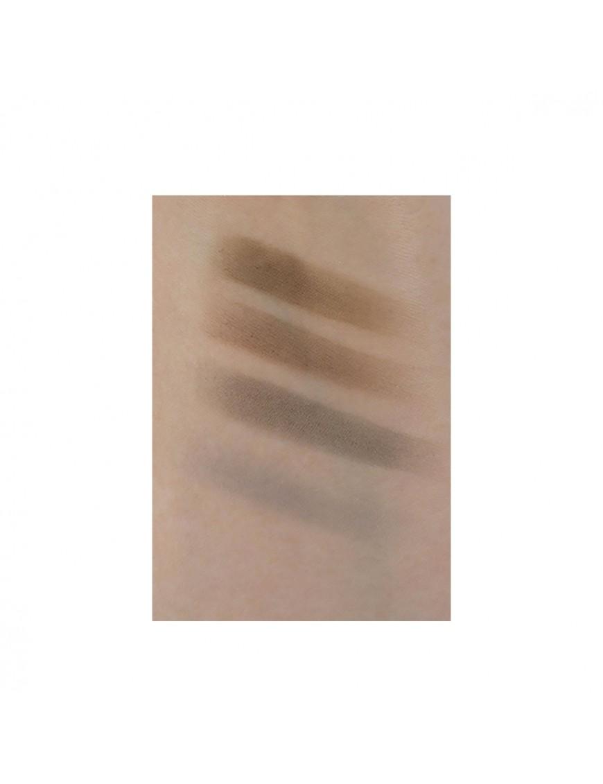 Swatch maquillage sourcils
