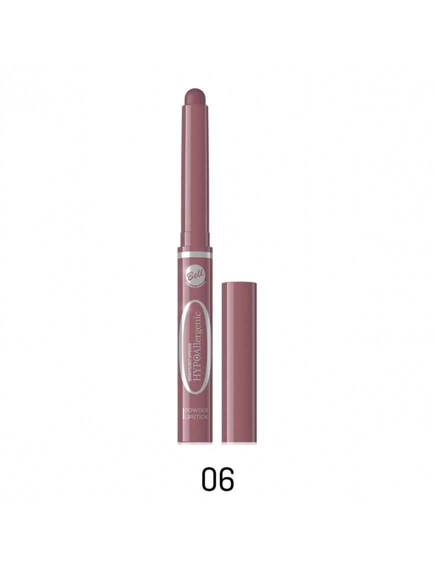 Poudre à lèvres en stick rose balais