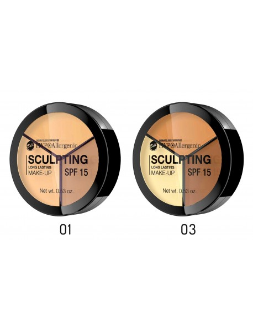 Palette pour sculpter le maquillage