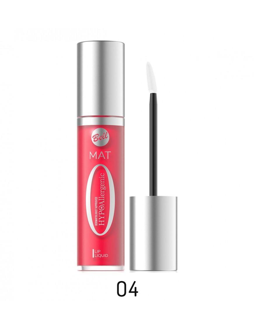 Rouge à lèvres mat liquide hypoallergénique fuschia