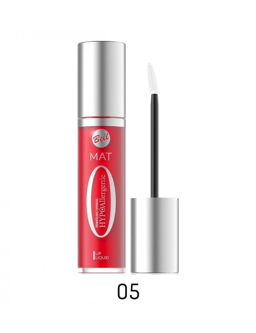 Rouge à lèvres mat liquide hypoallergéniquerouge