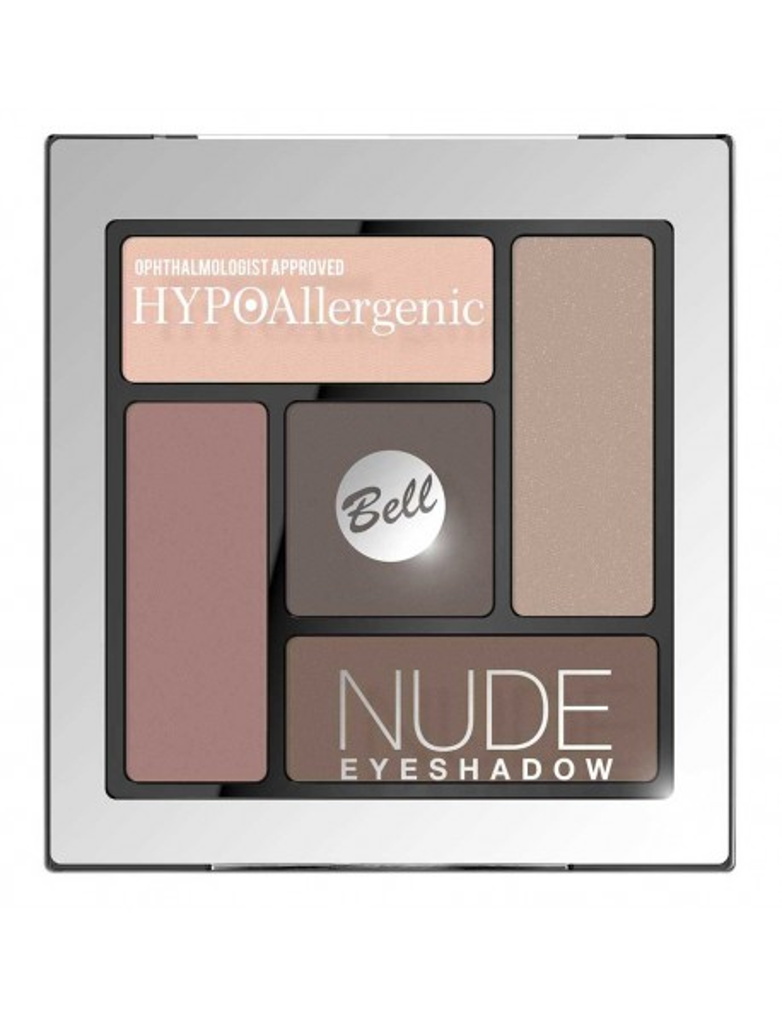Palette fards nude hypoallergéniques