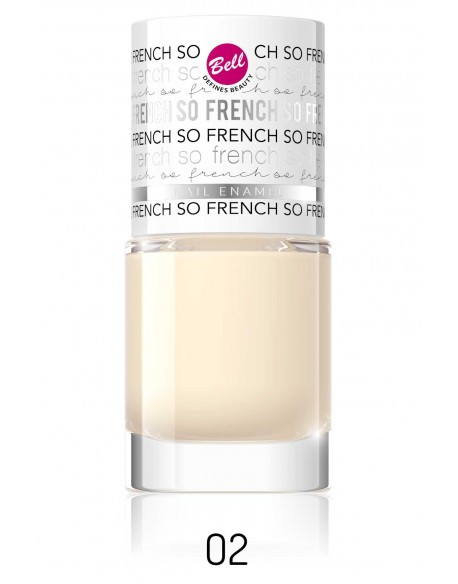 Vernis French manucure Couleur-02 - So french crème