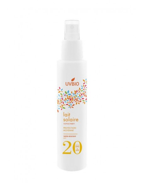 Spray solaire Bio waterproof SPF20