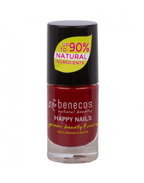Vernis à ongles vegan cherry red