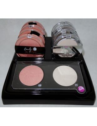 Présentoir Beauty Blush Powder 03 & Full Shine Highlighter