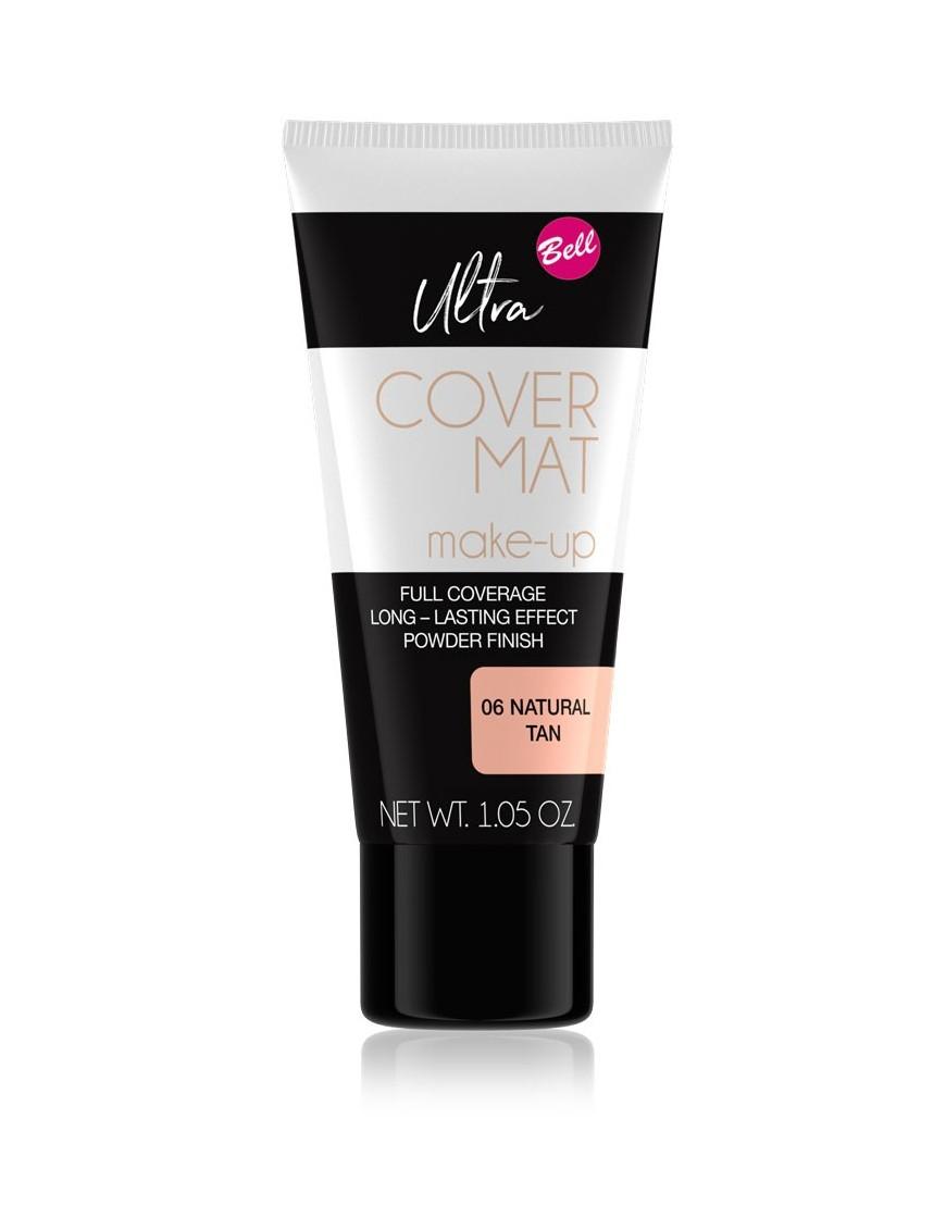 Ultra Cover Mat Make-Up yellow tan naturel
